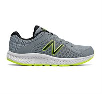 נעלי ריצה לגברים NEW BALANCE דגם M420LH4 בצבע אפור/צהוב