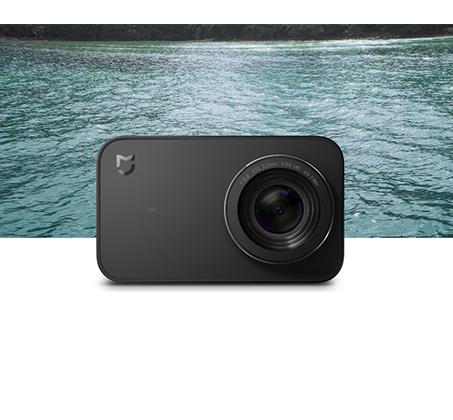 מצלמת אקסטרים שיאומי לתיעוד הדרך ברכב וצילומי אקסטרים Mi Action Camera 4K - משלוח חינם - תמונה 3