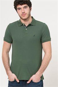 חולצת פולו לגברים - ירוק