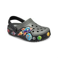 Crocs Fun Lab Galactic Clog Boys - כפכף אפור בהדפס גלקסיה