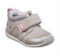 נעלי צעד שני לבנות דגם סמרטי ספורט בנות בצבע אפור