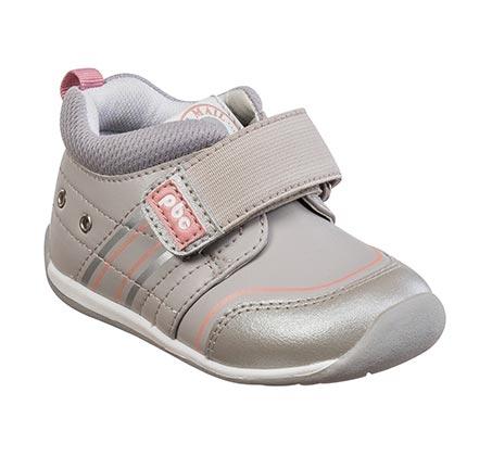 נעלי צעד שני לבנות דגם סמרטי ספורט בנות- אפור