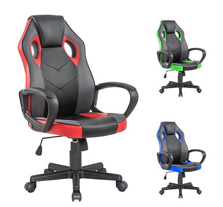 כיסא סופר גיימר ג'וניור HOMAX מעוצב עם משענת גב נוחה וגבוהה במגוון צבעים לבחירה - תמונה 5