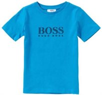 BOSS בוס טישרט (6חודשים-16שנים)-סמל באמצע