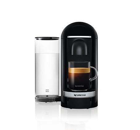 מכונת קפה NESPRESSO VertuoPlus בצבע שחור כולל מקציף חלב ארוצ'ינו דגם A3GCB2 נספרסו - משלוח חינם - תמונה 4