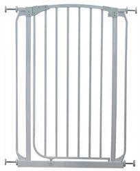 שער בטיחות גבוה 1 מטר 'ללא קדיחה' עם מנגנון נעילה בטיחותי