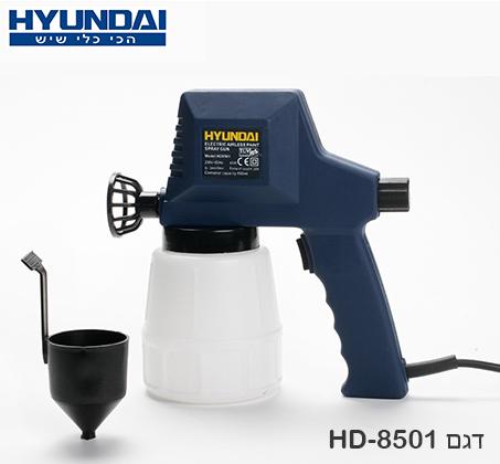 מדהים הפתרון המושלם לצביעה! מרסס צבע חשמלי של HYUNDAI, לצביעה קלה ומהירה BU-65
