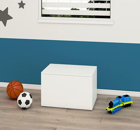 תיבה לאחסון נעליים, מצעים, צעצועים ועוד דגם PLAY BOX במגוון צבעים לבחירה - תמונה 2