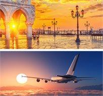 טיסה הלוך חזור לונציה רק בכ-$295*
