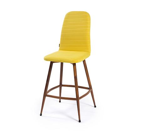 כיסא בר מעוצב לפינת אוכל ולמשרד דגם VESPA במגוון צבעים לבחירה מבית BRADEX - תמונה 6