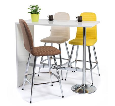 כסא בר מודרני לפינות אוכל ומשרדים במגוון צבעים לבחירה