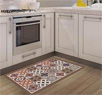 שטיח מעוצב דגם אקלקטי מוקה בגדלים לבחירה