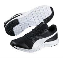 נעלי ספורט יוניסקס PUMA דגם lexracer black-white - לבן