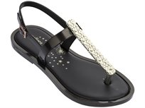 Melissa נשים // Slim Sandal Ii Black