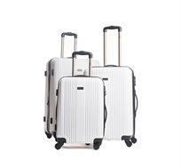 סט שלוש מזוודות קשיחות Calpak בגדלים 20|24|28 דגם Torrino במבחר צבעים