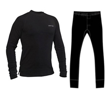 סט ביגוד תרמי, מכנסיים וחולצה לנשים וגברים