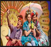 כרטיס להצגה 'פרצוף חמוץ' של תיאטרון אורנה פורת ב- 9.12