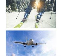 מגוון טיסות ליעדי סקי באירופה החל מכ-$99*