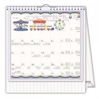 לוח שנה שולחני 2019–20 אמילי וויקס