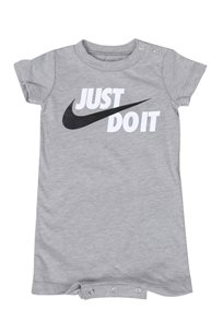 Nike תינוקות // Romper Grey Heather