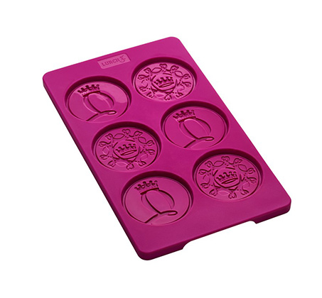 תבנית שוקולד מסיליקון להכנת מדליות  - LURCH