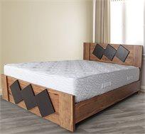 מיטה זוגית מעוצבת דגם 7007 אולימפיה במגוון צבעים לבחירה