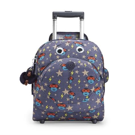 תיק גב לילדים Big Wheely - Toddlerheroהדפס וואו כחול