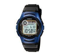 שעון יד דיגיטלי לילדים - שחור/כחול