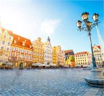 """8 ימי טיול מאורגן בפולין כולל טיסות, אירוח במלונות ע""""ב א.בוקר ומלווה ישראלי החל מכ-$707* לאדם!"""