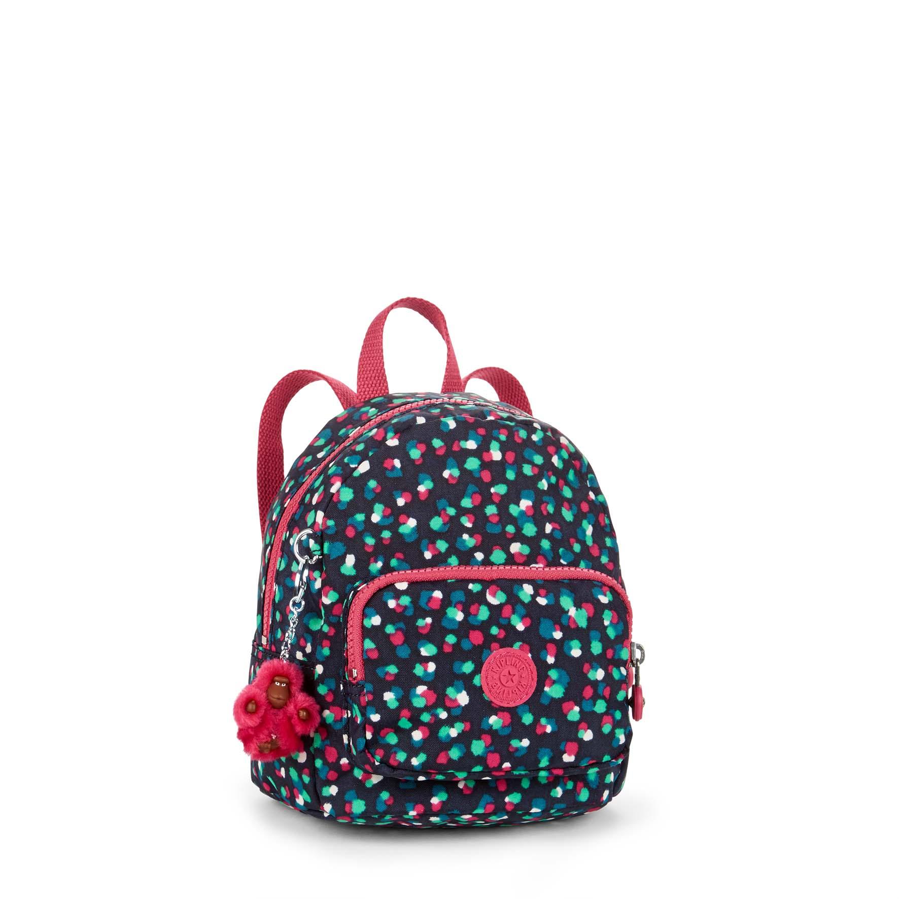 תיק גב קטן לילדים Munchin - Festive Camoנקודות צבעוניות