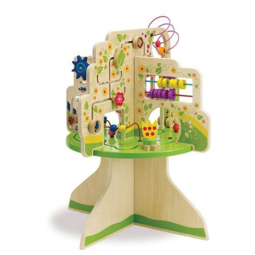שולחן פעילות- עץ - Manhattan Toy