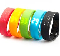 שעון ספורט חכם הכולל פדומטר, שריפת קלוריות, טמפרטורת מזג אוויר וחיישן איכות שינה