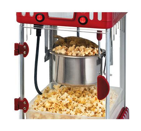מכונת פופקורן MOVIE STAR GOLD LINE דגם ATL-202 במראה וינטג' כמו בבתי הקולנוע - משלוח חינם - תמונה 2