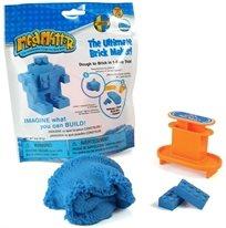 ערכה ליצירת קוביות לגו Lego מבצק קינטי Mad Mattr - כחול