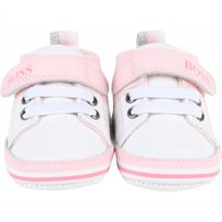 BOSS  נעלי תינוקות (19-15) - ורוד בייבי