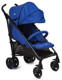 טיולון Brisk Premium עם גגון Xl ופגוש - כחול Royal Blue