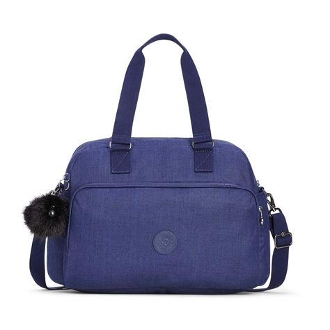 תיק טיולים July Bag - Cotton Indigo כחול כותנה