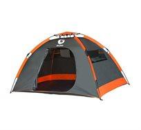 אוהל קמפינג זוגי מרווח ומהיר הקמה עם 4 חלונות פנורמיים וכניסה אחת GURO