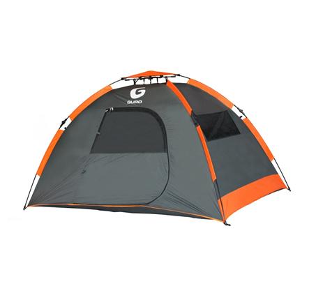 אוהל קמפינג זוגי מרווח ומהיר הקמה עם 4 חלונות פנורמיים וכניסה אחת GURO - משלוח חינם - תמונה 2