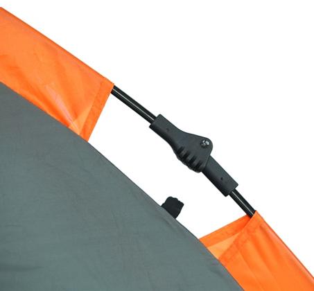 אוהל קמפינג זוגי מרווח ומהיר הקמה עם 4 חלונות פנורמיים וכניסה אחת GURO - משלוח חינם - תמונה 4