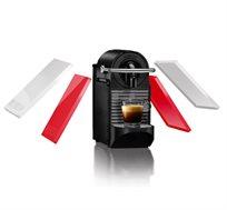 מכונת קפה דגם PIXIE CLIPS D60C החדשה הכוללת 2 קליפים בצבע ורוד ניאון ולבן להחלפה, מבית Nespresso - משלוח חינם!