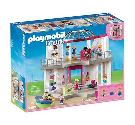פליימוביל קניון ענק 5499 + דמות Playmobile מתנה