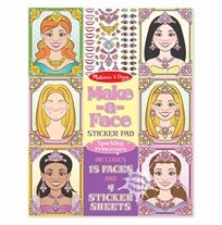 חוברת מדבקות נסיכות