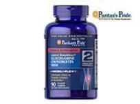 6 בקבוקי Glucosamine Chondroitin MSM  עבור תמיכה במפרקים. 90 קפסולות בכל קופסא