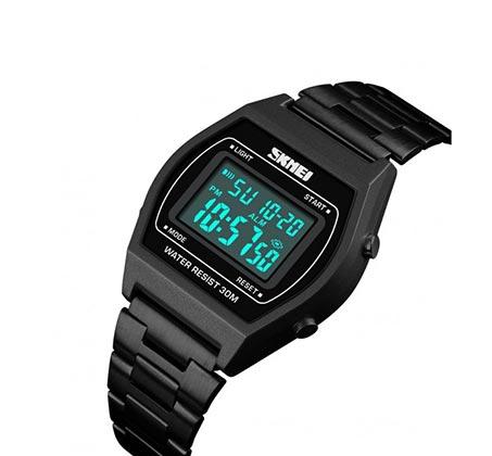 שעון יד ספורט דיגיטלי דגם 1328 בצבע שחור