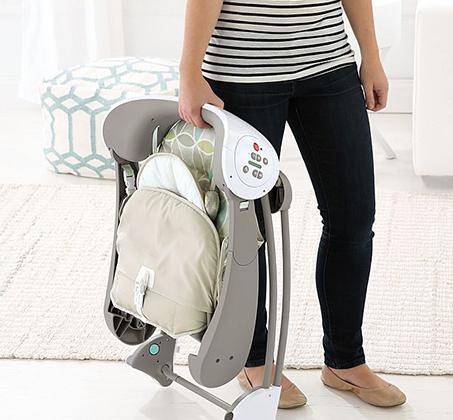 נדנדה מנגנת ניידת בעלת 2 מצבים לתינוקות פישר פרייס - תמונה 5