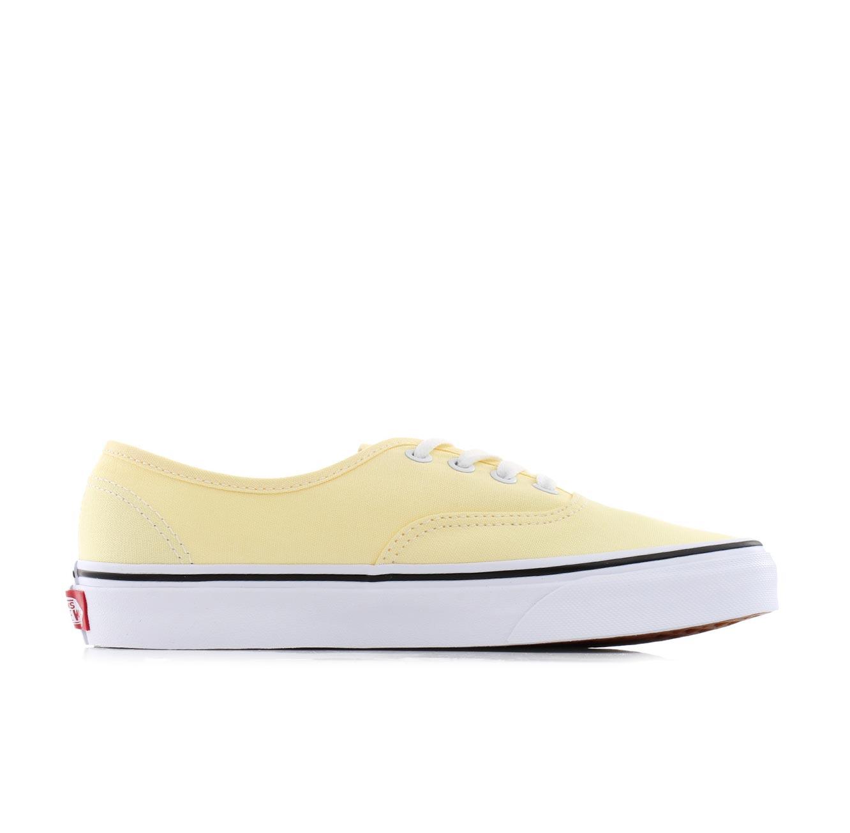 נעלי סניקרס קלאסיות לנשים - צהוב בהיר