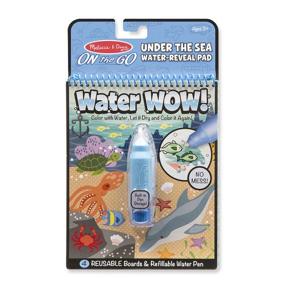 חוברת טוש המים ים