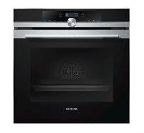 תנור גומחא Siemens נפח 71 ליטר עם טורבו 4D דירוג אנרגטי A ו13 תוכניות בישול דגם HB634GBS1