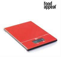 מחיר מיוחד לזמן מוגבל! משקל המטבח הדיגיטלי המעוצב מבית food appeal עם משטח הזכוכית - 3 צבעים לבחירה